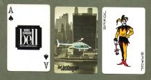 Collectible Advertising playing cards Bell Helicopters #005